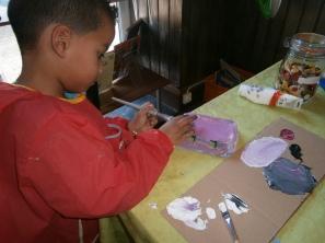 Atelier créatif - enfants 2 à 5 ans.