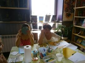 Atelier art-thérapie - Stage Mission de Vie / juin 2015
