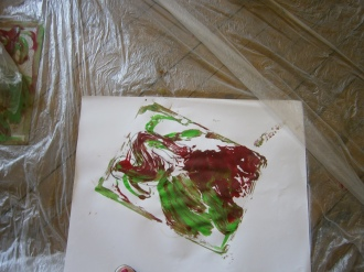 Atelier art-thérapie - Stage Mission de Vie / juin 2015.