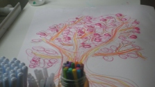 Atelier art-thérapie - Avec les adolescents de l'hôpital MAGELLAN à Quint-Fonsegrives.